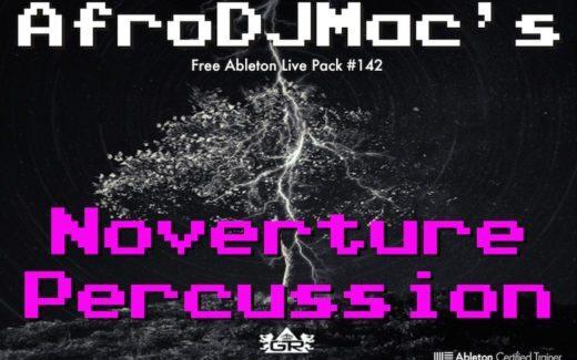 AfroDJMac's Free Noverture Percussion Sampler