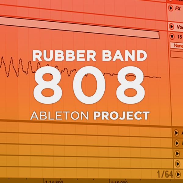 Rubber Band 808 Ableton Rack