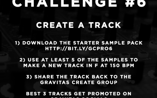 Production Challenge #6: Make a Track