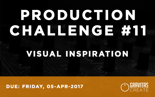 Production Challenge #11: Visual Inspiration