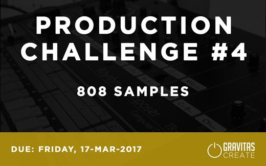 Production Challenge #4: 808 Samples