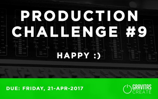 Production Challenge #9: Happy