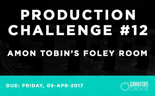 Production Challenge #12: Amon Tobin's Foley Room