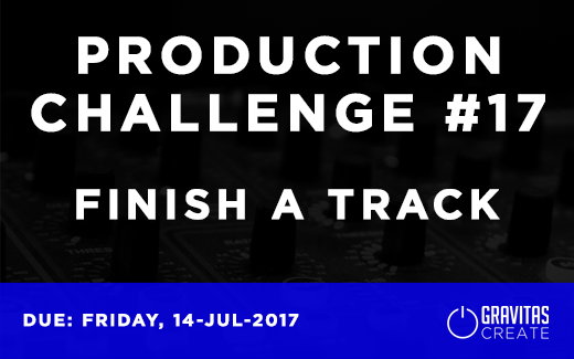 Production Challenge #17 Finish A Track