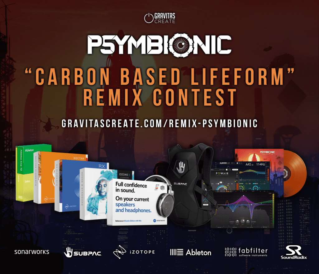 Enter the Psymbionic Remix Contest • Gravitas Create