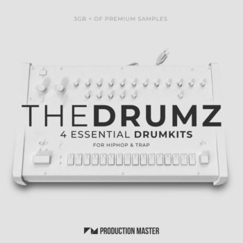 Production Master - The Drumz - Essential Drumkits for Hip-Hop & Trap