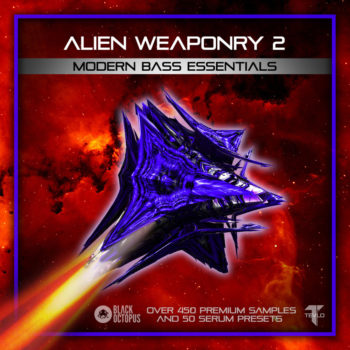 Black Octopus Sound - Alien Weaponry -2 Modern Bass Essentials