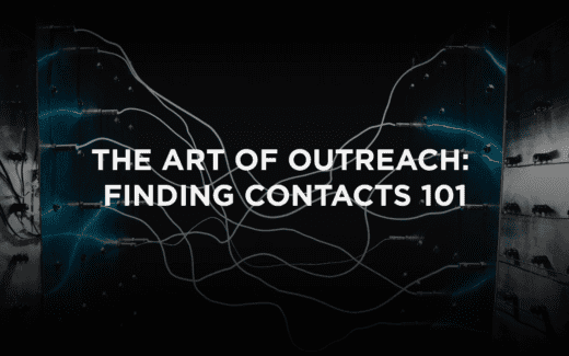 The Art of Outreach: Finding Contacts 101