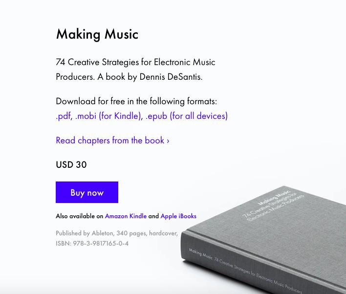 Ableton Music Book
