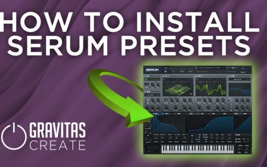 How to Install Serum Presets
