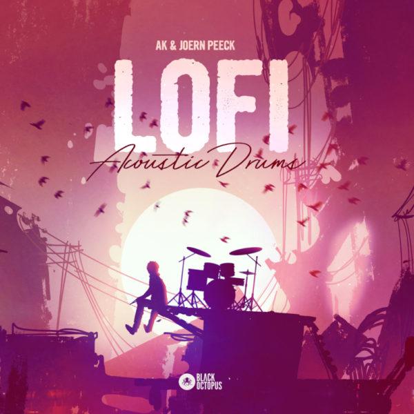 Black Octopus Sound - Lofi Acoustic Drums by AK & Joern Peeck - Artwork 1000